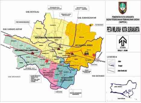 Rute Rel melingkar di Kota Solo : Stasiun Jebres - Balapan - Purwosari - Kota ( via slamet riyadi ) - dan dari Kota ( sangkrah) - Jebres yang sedang direncanakan